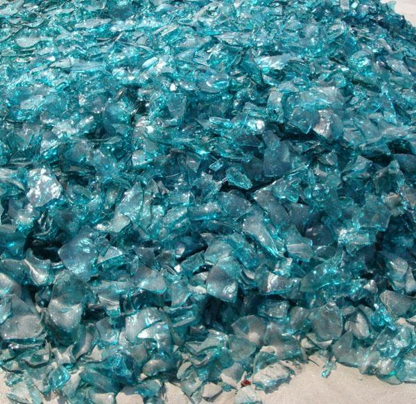废碎玻璃颗粒 3