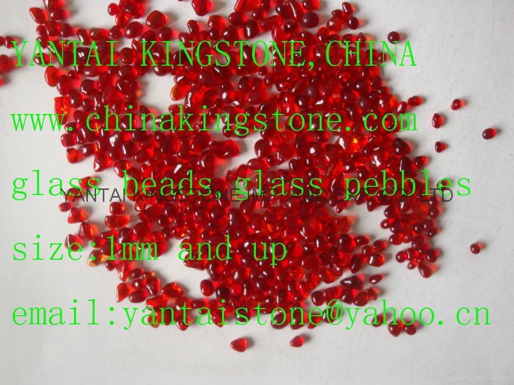 红色玻璃砂 8