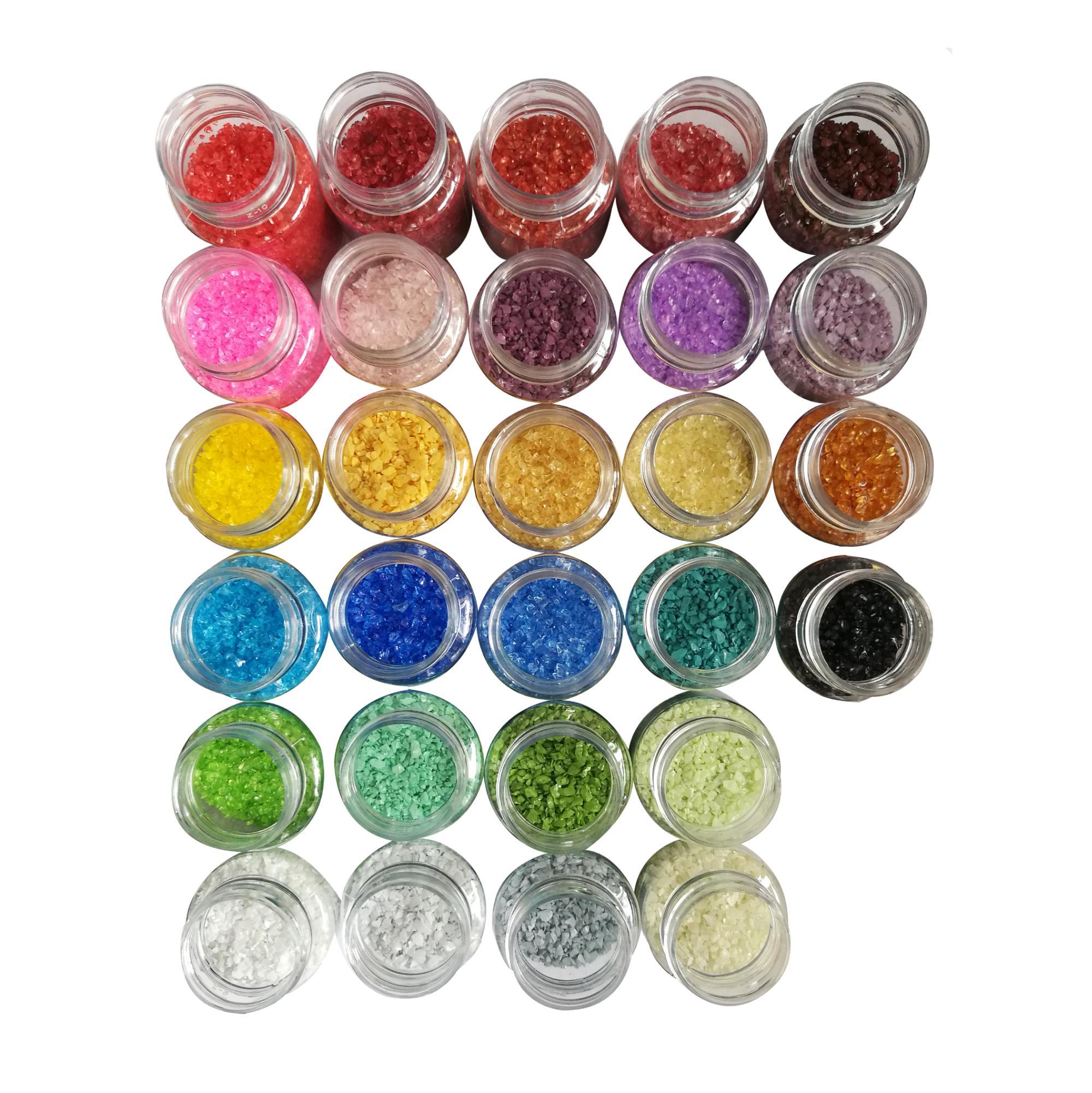 染色玻璃顆粒 2