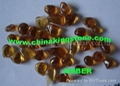 Glass Pebbles for wall coating or walking road 1