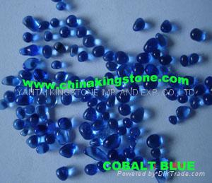 Glass Pebbles for wall coating or walking road 3