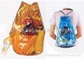 Transparent Roll Backpack