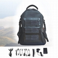 solar chager laptop bag