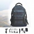 solar chager laptop bag