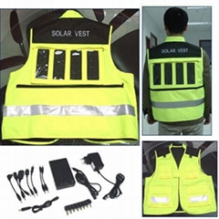 Solar Charger Vest (Hot Product - 1*)
