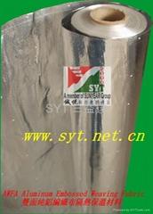 雙面鋁箔編織布隔熱保溫材料