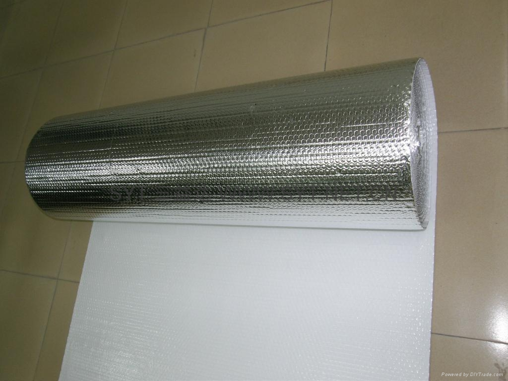 aluminum foil fire retardant heat insulation material