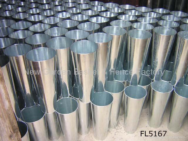 zinc planter,zinc pot,flower pot,flower planter,tin planter,galvanized planter 3