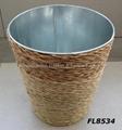 zinc planter,zinc pot,flower pot,flower planter,tin planter,galvanized planter 5