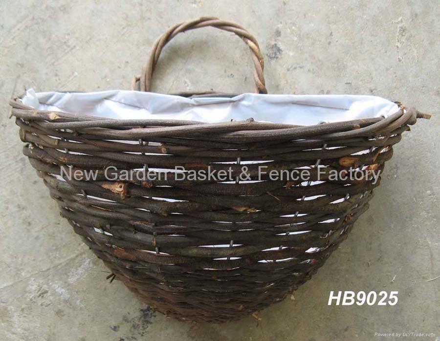 ... Rattan Wall Basket,wall Planter,Rattan Hanging Basket,hanging Flower  Basket 2 ...