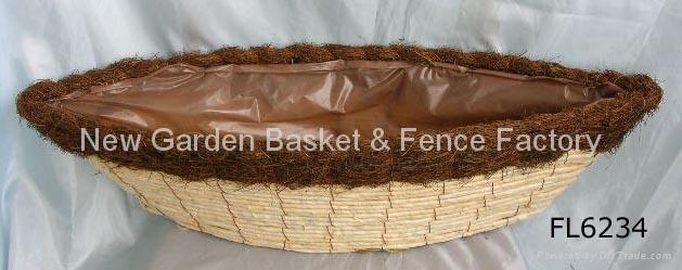 rattan planter,rattan flower pot,rattan basket,flower planter,wicker basket 2