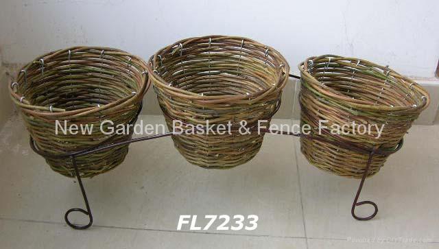 rattan planter,rattan flower pot,rattan basket,flower planter,wicker basket 3