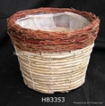 flower pot basket,garden pot,plant pot,gardening planter,rattan basket 4