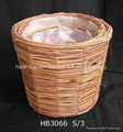 flower pot basket,garden pot,plant pot,gardening planter,rattan basket 5