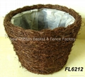 flower pot basket,garden pot,plant pot,gardening planter,rattan basket 1