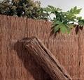 Heather fence,brushwood fence,brushwood