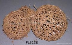 Rattan ball,garden decoration,bird house,wicker wreath,rattan raw material