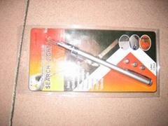 extending magnetic flashlight