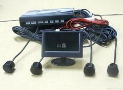 DIY AUTO REVERSE SENSOR W/ LCD MONITOR