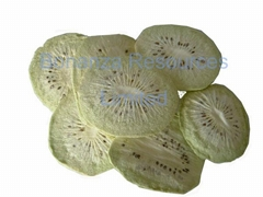 2016 agricultural crop GMP factory supply 100% Natural Freeze Dried Kiwi Chips
