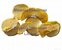 2016 agricultural crop GMP factory supply Freeze Dried Peach Chips Crispy snack