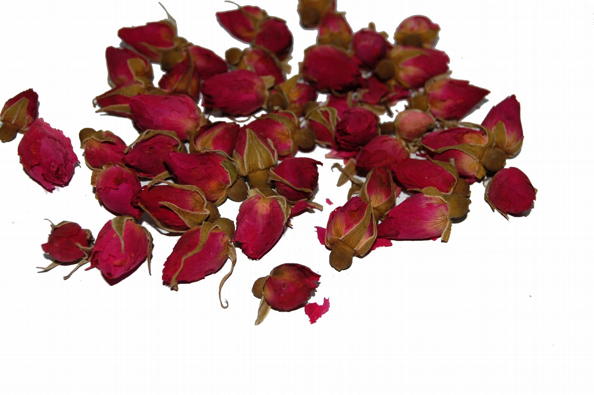 Free Sample ISO Certificate Without Bacterial Dried Red Rose Buds Herbal Tea 2
