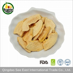 Natural A grade Freeze Dried Fruit Snack-Papaya Chips