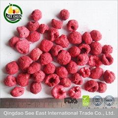 Heathy dried berries snacks Freeze Dried Healthy Fruit -Raspberry