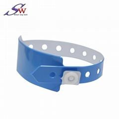13.56Mhz/UHF PVC RFID Wristband