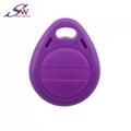 13.56Mhz Custom Design RFID ABS Keyfob 5