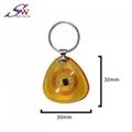 13.56Mhz Custom design RFID Epoxy Keychain Tag 2