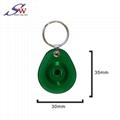 13.56Mhz Custom design RFID Epoxy Keychain Tag 4