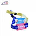 woven fabric rfid wristband for event 5