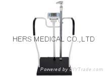 電子體重秤扶手型/附電子尺