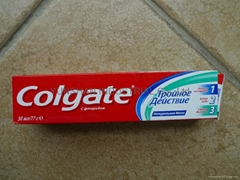 Colgate Triple action  50ml/77g Russian version