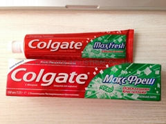 Colgate MaxFresh CLEAN MINT  100ml/133g Russian version