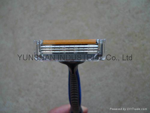 shaving razor G Blue 3