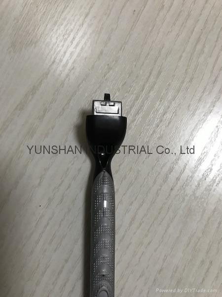 M3 Compatible 3 blades shaving razor handle 3