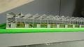 溫室陽光大棚沙盤製作  室內蔬菜大棚模型 2