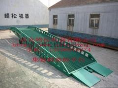 Steel yard ramp