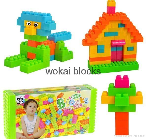 Intelligent 88 pcs Building Block 1