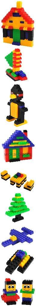 迷你益智塑料積木玩具(88塊) 2