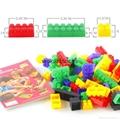 迷你益智塑料積木玩具(88塊) 3