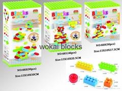 Intelligent Building Blocks