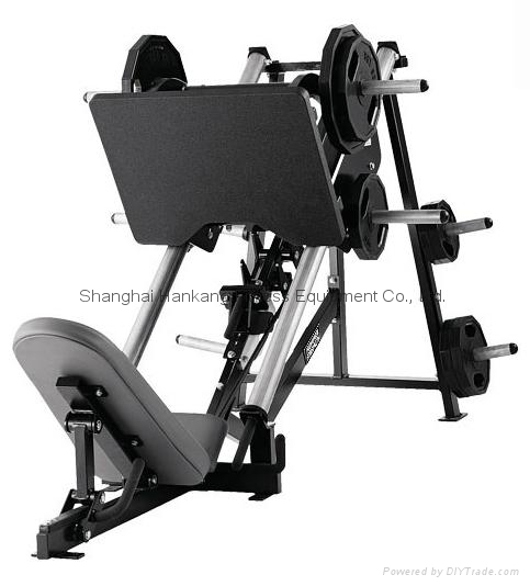 Hammer strength home gym body building linear leg press hs 3030