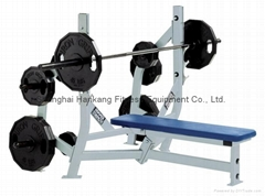 Hammer Strength,home gym,body-building,Olympic Bench Weight Storage,HS-4012