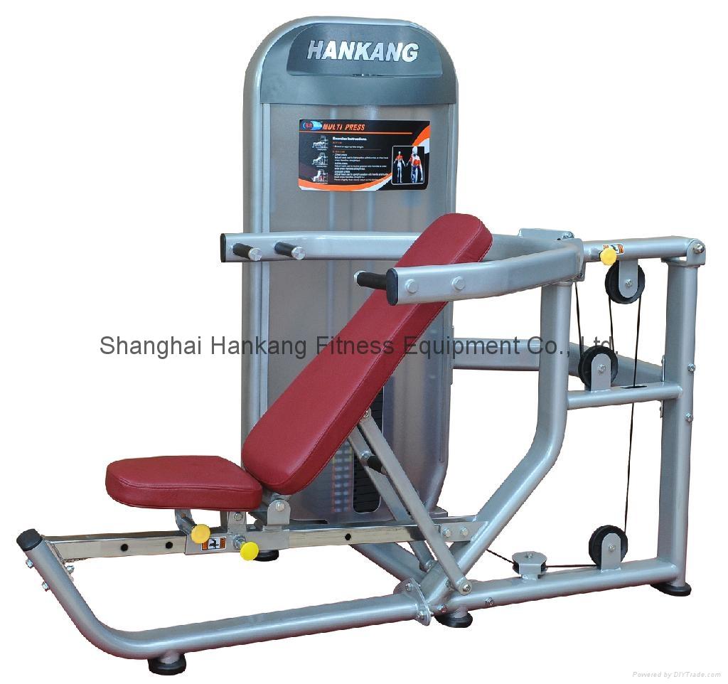 fitness machine,body-building & fitness equipment,Multi Press,HN-2002