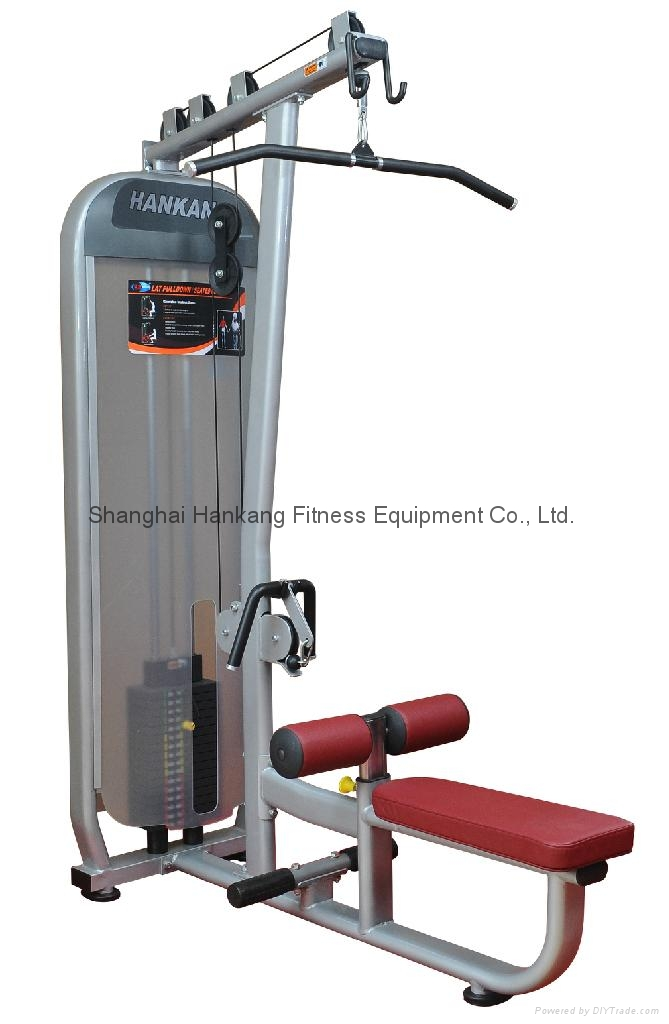 fitness machine,body-building &fitness equipment,Lat Pulldown+Seated Row,HN-2003