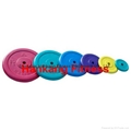 1'' Colorful Rubber Weight Plate