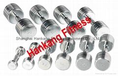 Commercial Chrome Steel Dumbell( HD-008 )